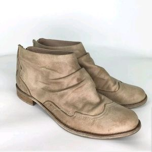 Bullboxer Womens Leather Closed Toe Ankle booties